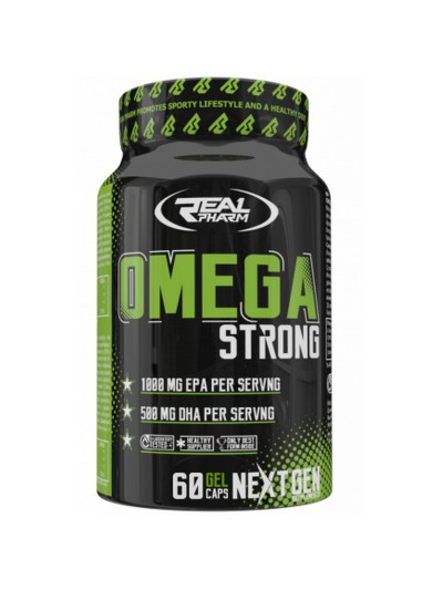 Real Pharm Omega Strong 60kaps