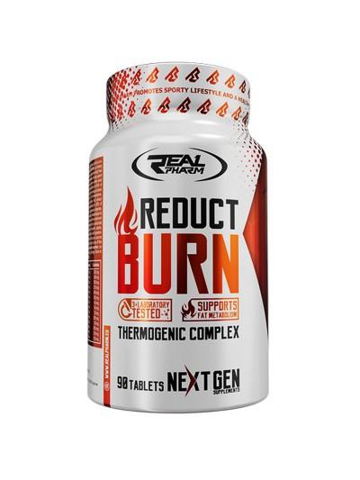 Spalacz tłuszczu Real Pharm Reduct Burn 90tabs w sklepie z suplementami i odżywkami Pakuj ZDROWIE Gdańsk Wrzeszcz
